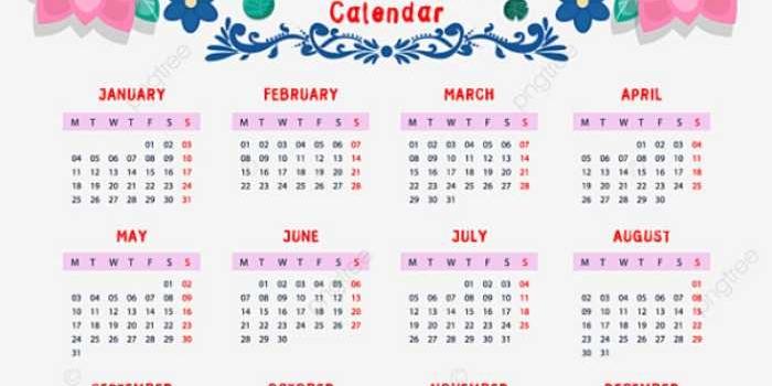 Nuevos calendarios 2021 para descargar e imprimir