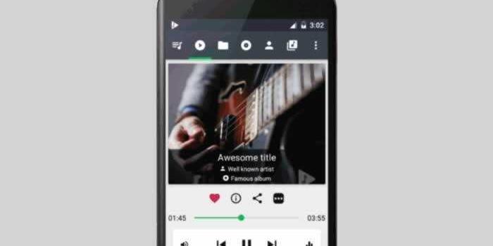 Un potente reproductor de audio para Android, gratis y sin publicidad