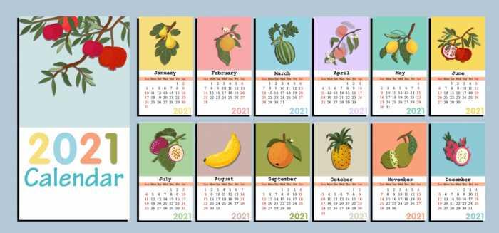 Recordatorio de los calendarios 2021 ya publicados