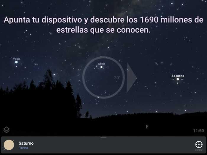 Stellarium. El mapa de las estrellas en tu móvil
