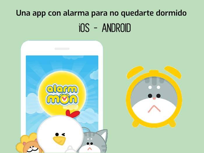 Una app con alarma para no quedarte dormido