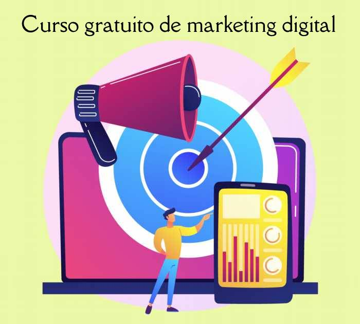 Curso gratuito online de Marketing digital