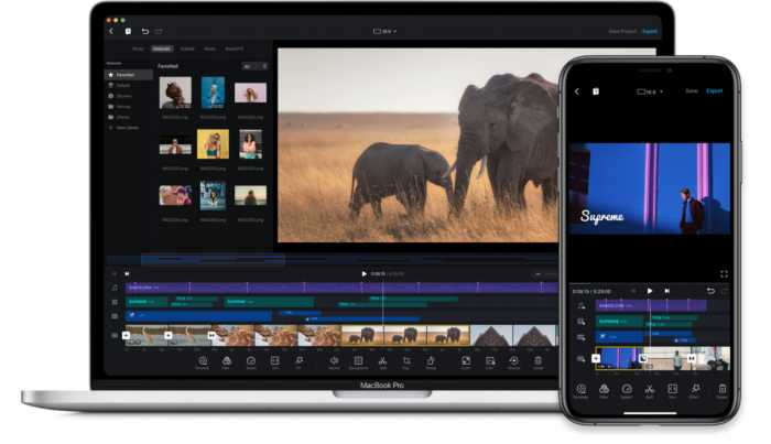 VN. Editor de video profesional gratuito para tu móvil