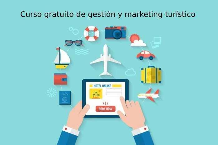Curso gratuito de gestión y marketing turístico