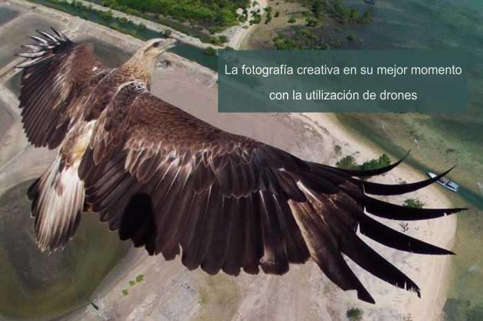 Los drones en la evolución de la fotografía creativa