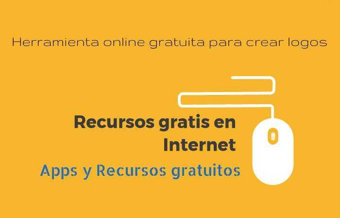 Herramienta online gratuita para crear logos