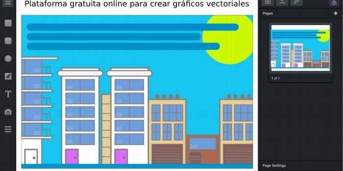 Plataforma gratuita online para crear gráficos vectoriales