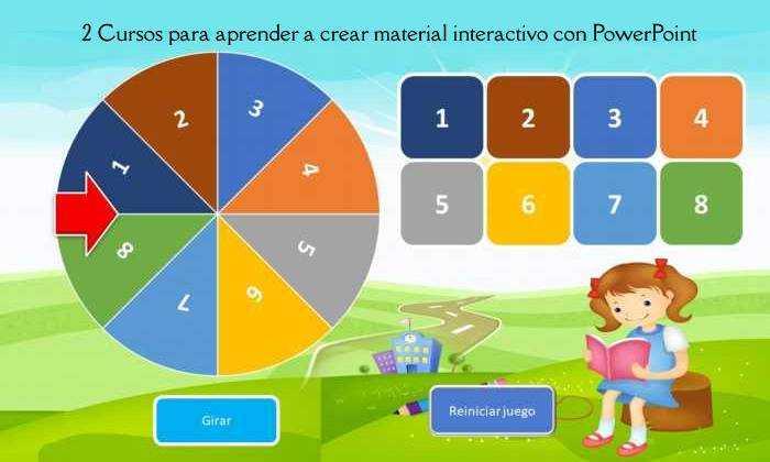 2 Cursos para aprender a crear material interactivo con PowerPoint