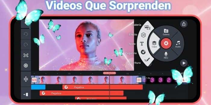 KineMaster. Completo editor de video para móviles