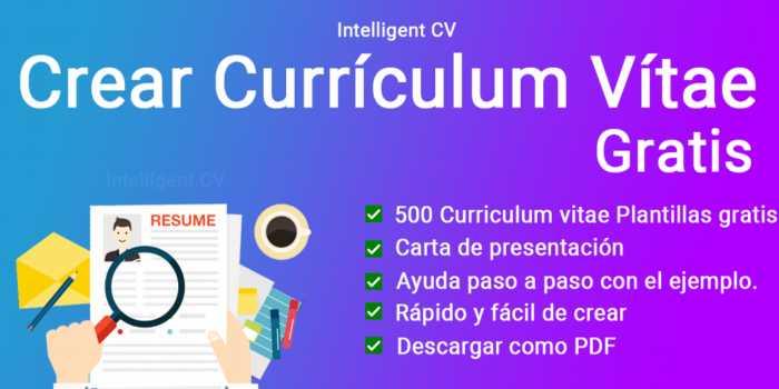 Curriculum Vitae Maker una app para crear un currículum profesional