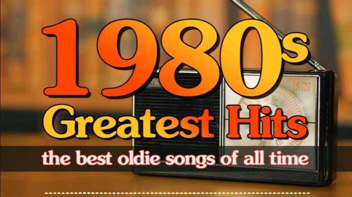 Playlist con las mejores canciones de los 80s
