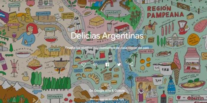 Explora la gastronomía argentina desde Argentina a la mesa